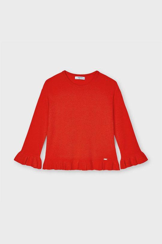 czerwony Mayoral - Sweter dziecięcy Dziewczęcy