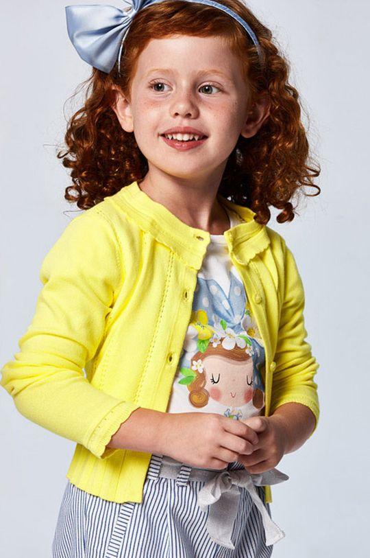 Mayoral - Kardigan dziecięcy żółty