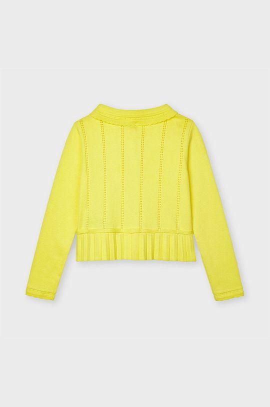 żółty Mayoral - Kardigan dziecięcy