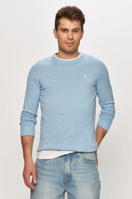 jasny niebieski Tom Tailor - Sweter Męski
