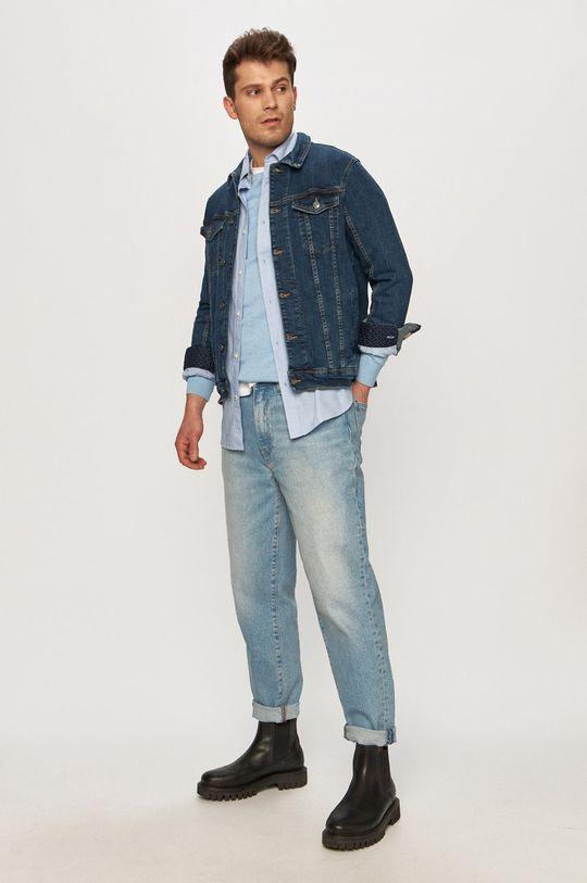 Tom Tailor - Sweter jasny niebieski