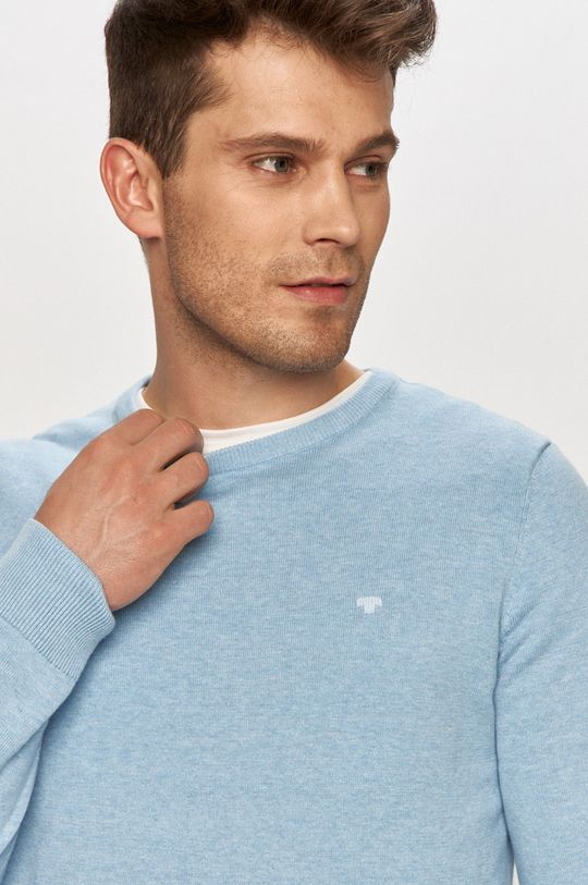 jasny niebieski Tom Tailor - Sweter