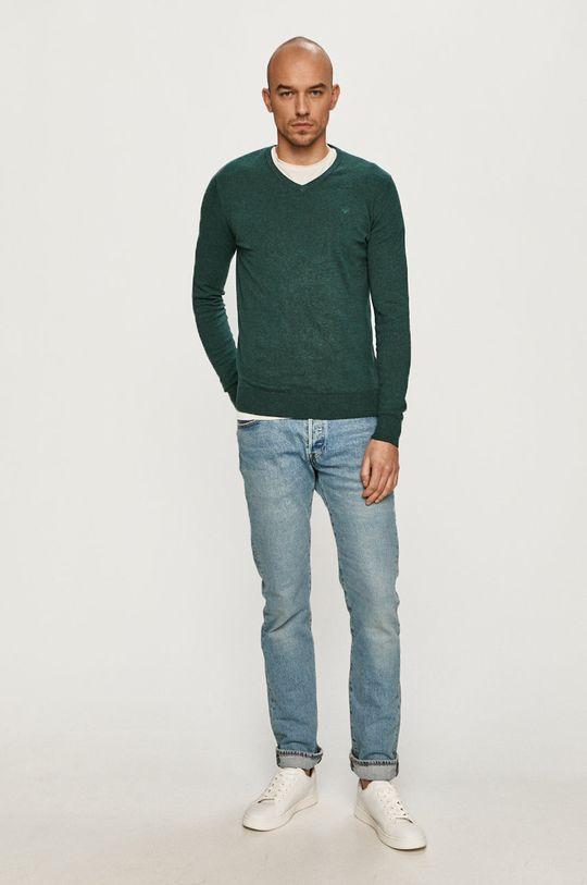 Tom Tailor - Sweter zielony
