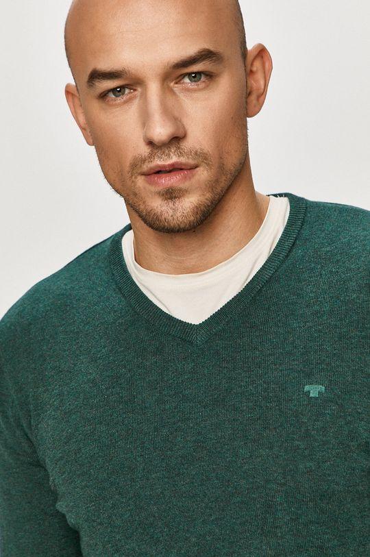 zielony Tom Tailor - Sweter
