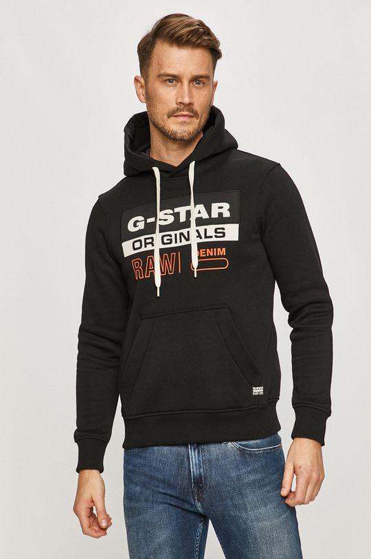 czarny G-Star Raw - Bluza Męski