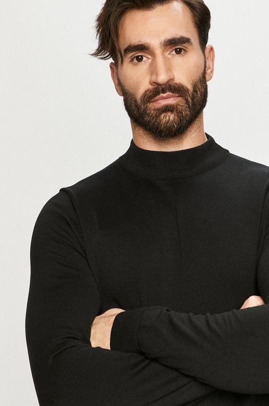 czarny Premium by Jack&Jones - Sweter