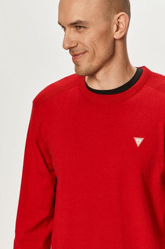 czerwony Guess - Sweter