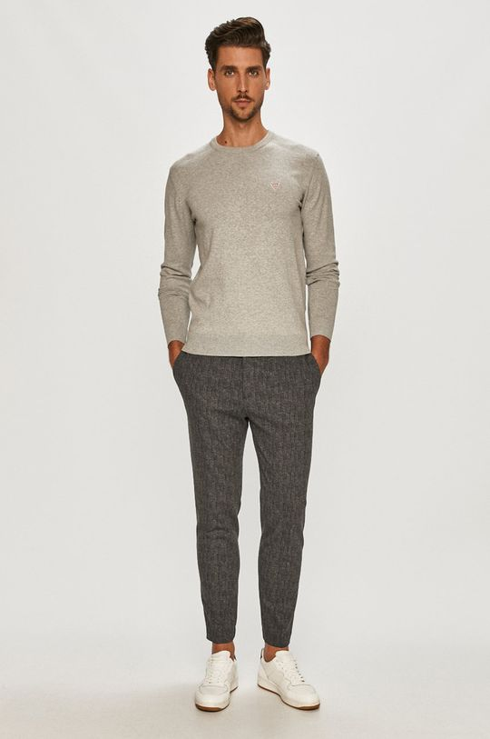 Guess - Sweter szary