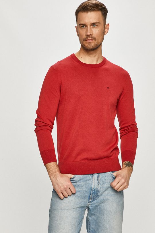červená Calvin Klein - Svetr Pánský