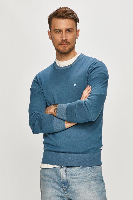 modrá Calvin Klein - Svetr Pánský