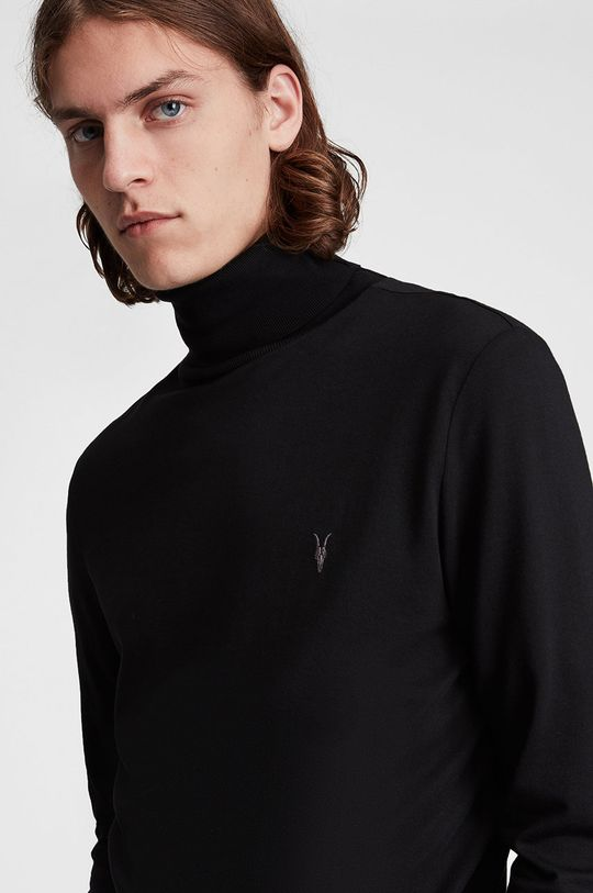 AllSaints - Sweter czarny
