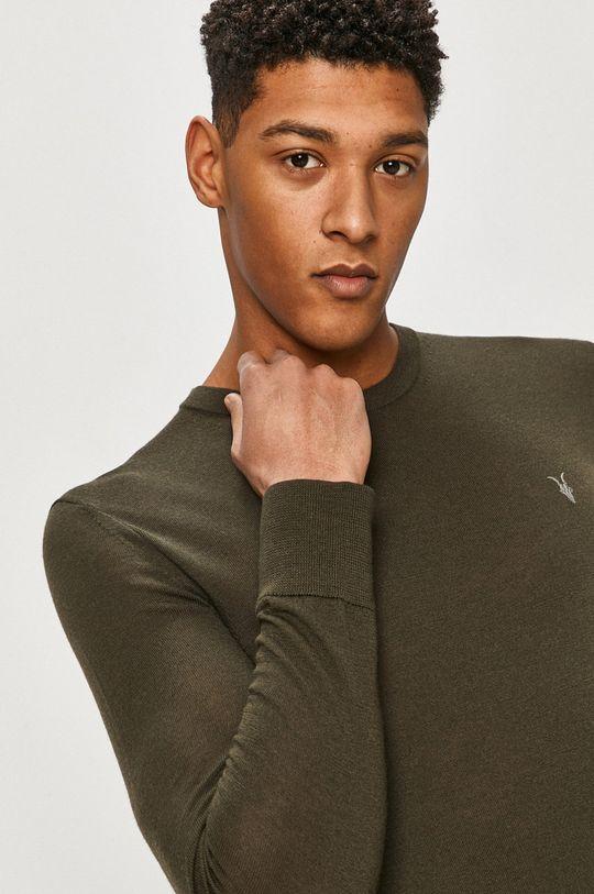 zielony AllSaints - Sweter