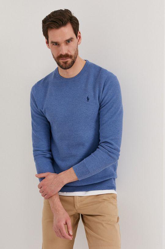niebieski Polo Ralph Lauren - Sweter Męski