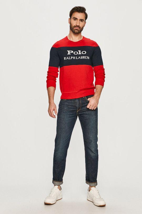 Polo Ralph Lauren - Sweter czerwony