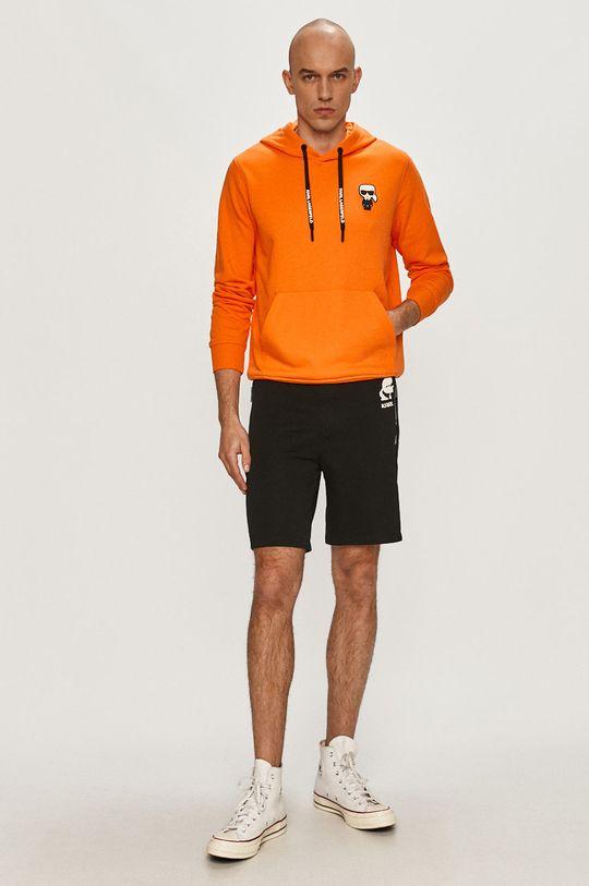 Karl Lagerfeld - Bluza pomarańczowy