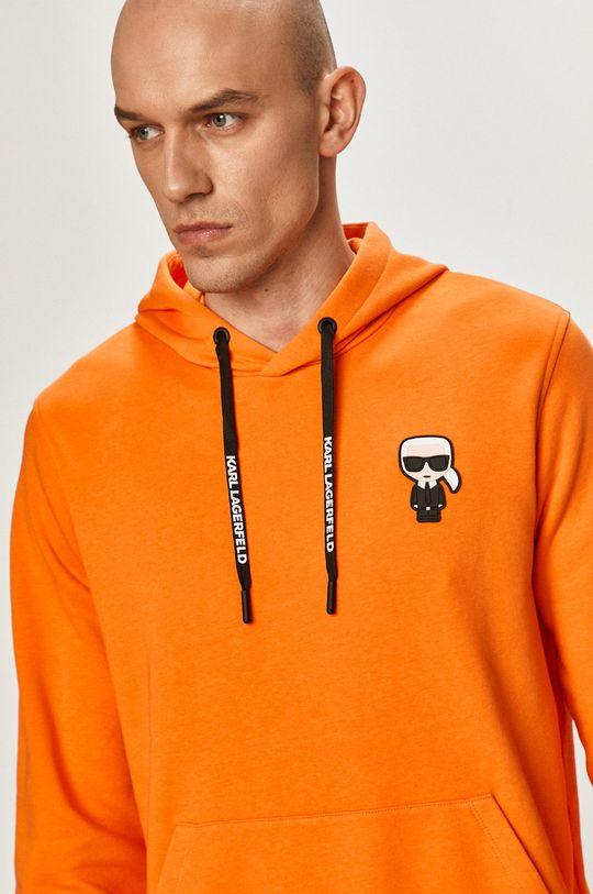 pomarańczowy Karl Lagerfeld - Bluza
