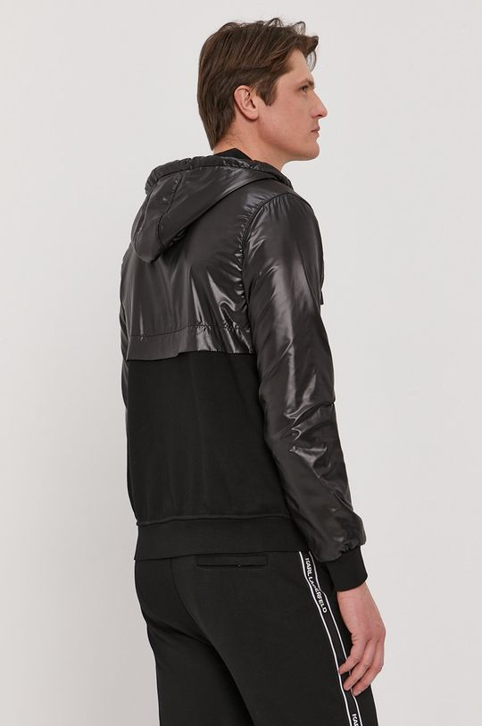 Karl Lagerfeld - Bluza  Captuseala: 100% Poliester  Material 1: 87% Bumbac, 13% Poliester  Material 2: 100% Poliester
