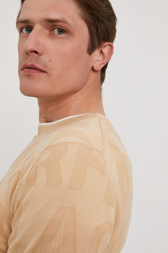 piaskowy Karl Lagerfeld - Sweter