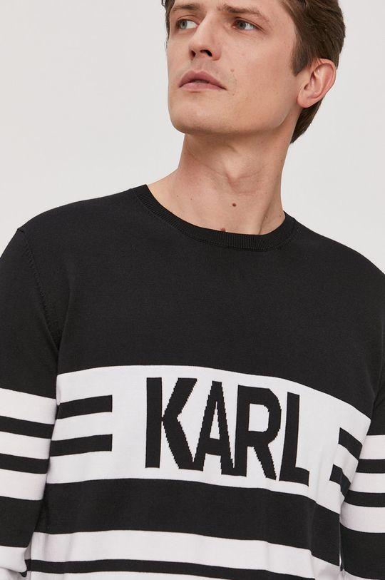 czarny Karl Lagerfeld - Sweter
