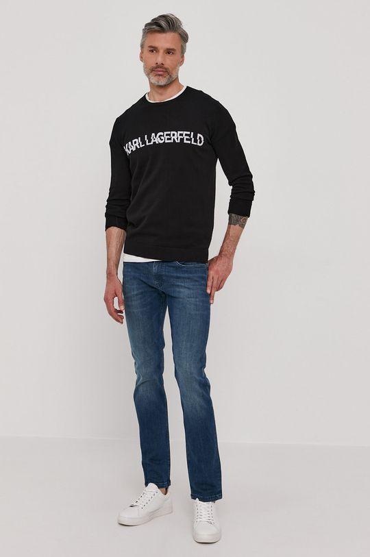 Karl Lagerfeld - Sweter czarny