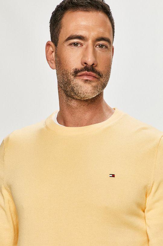 żółty Tommy Hilfiger - Sweter