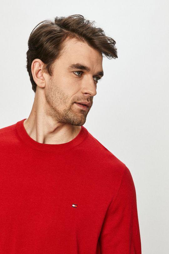 czerwony Tommy Hilfiger - Sweter