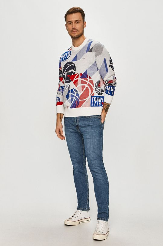 Tommy Jeans - Pulover multicolor