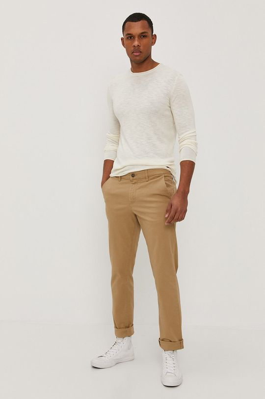 Only & Sons - Sweter kremowy