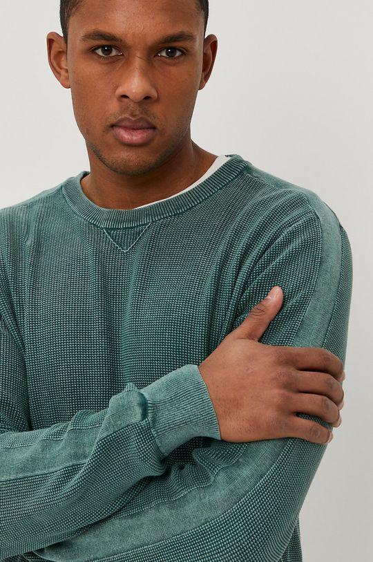 ciemny zielony Mustang - Sweter