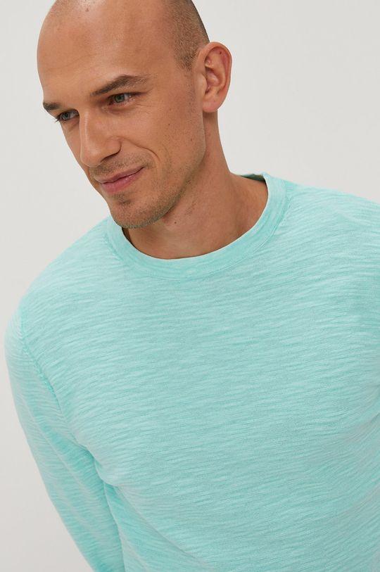 zielony Tom Tailor - Sweter Męski