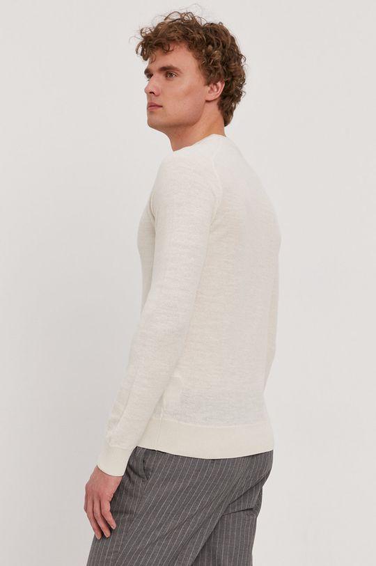 Boss - Sweter Boss Casual 62 % Bawełna, 32 % Len, 6 % Poliester