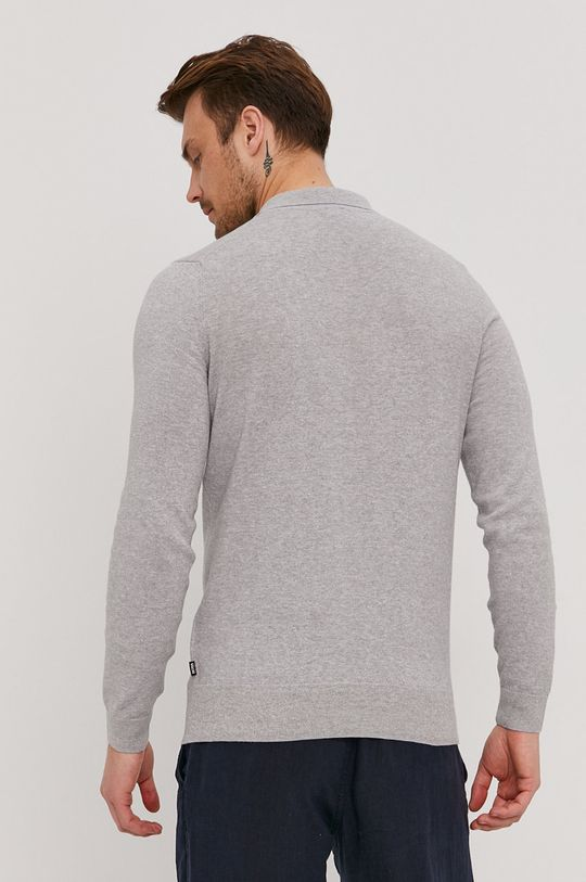 Boss - Sweter 78 % Bawełna, 22 % Len