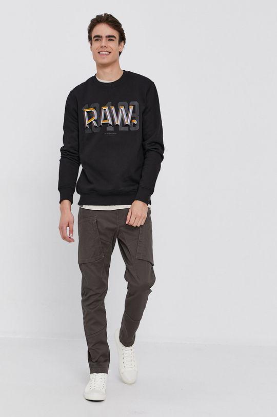 G-Star Raw - Mikina čierna