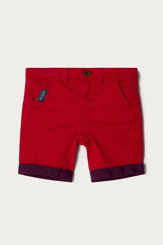 rosu Guess - Pantaloni scurti copii 92-122 cm De băieți
