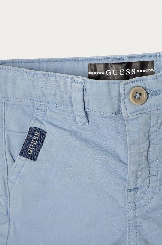 Guess - Szorty dziecięce 92-122 cm niebieski