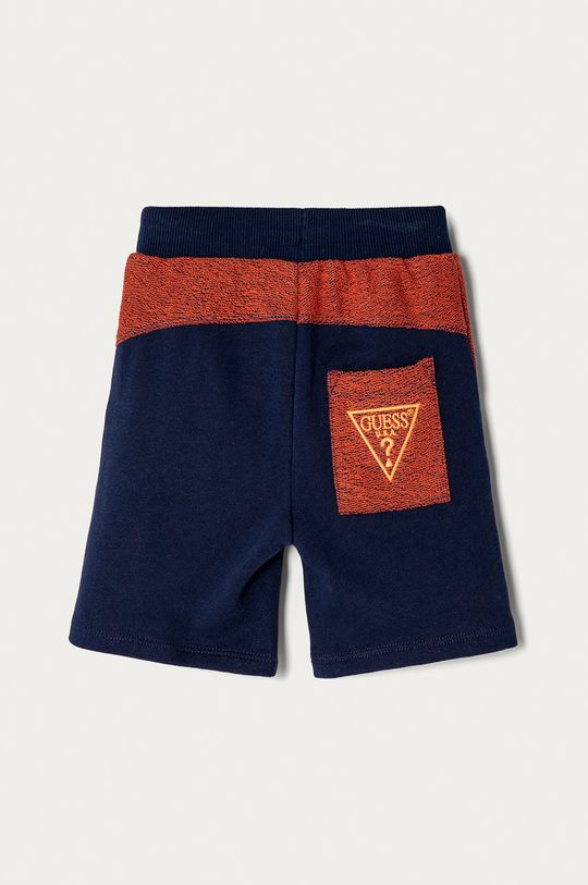 Guess - Pantaloni scurti copii 92-122 cm bleumarin