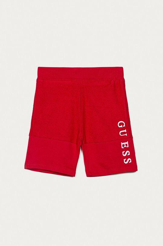 czerwony Guess - Szorty dziecięce 92-122 cm Chłopięcy