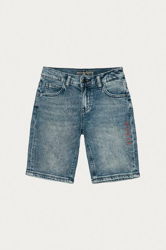niebieski Guess - Szorty jeansowe dziecięce 116-175 cm Chłopięcy