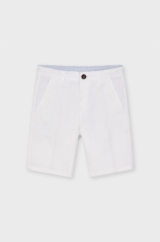 alb Mayoral - Pantaloni scurti copii De băieți