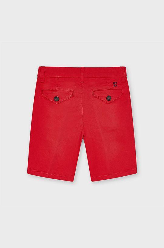 Mayoral - Pantaloni scurti copii rosu ascutit