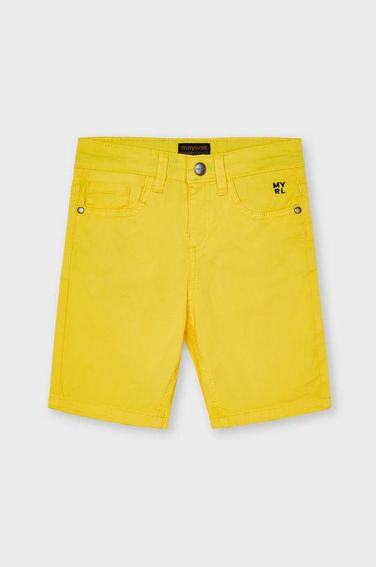 svetlo oranžová Mayoral - Detské krátke nohavice Chlapčenský