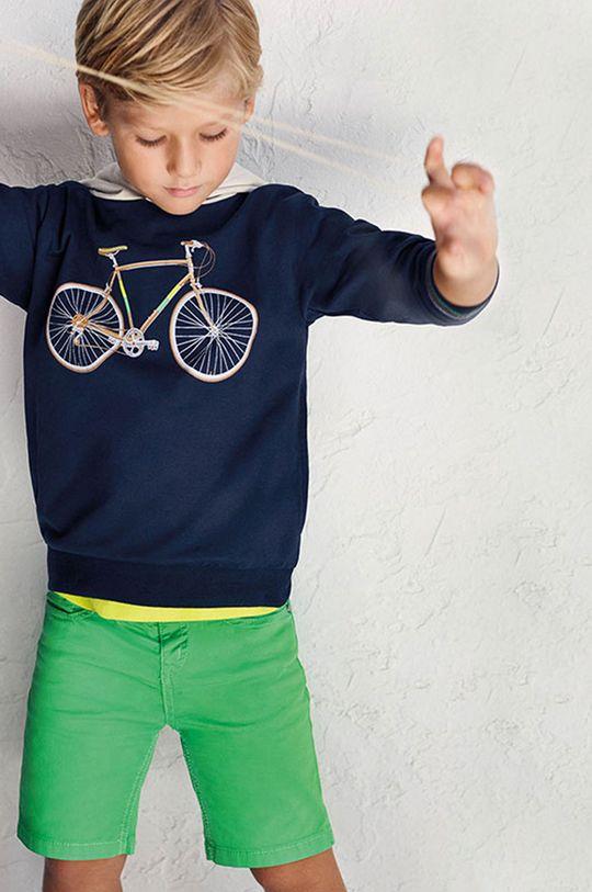 Mayoral - Detské krátke nohavice sýto zelená