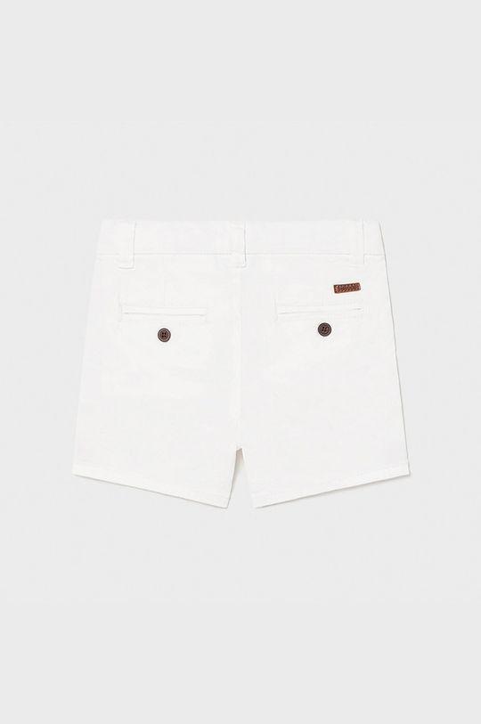 Mayoral - Detské krátke nohavice 68-98 cm biela
