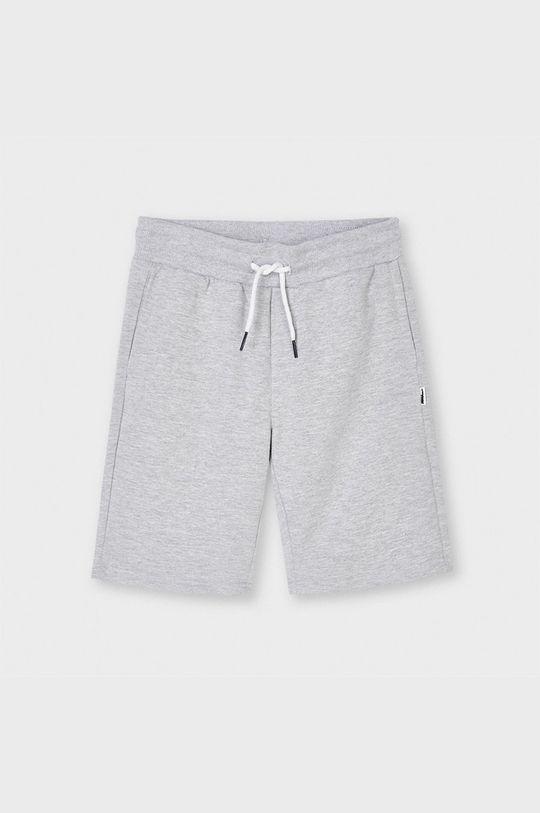 svetlosivá Mayoral - Detské krátke nohavice Chlapčenský
