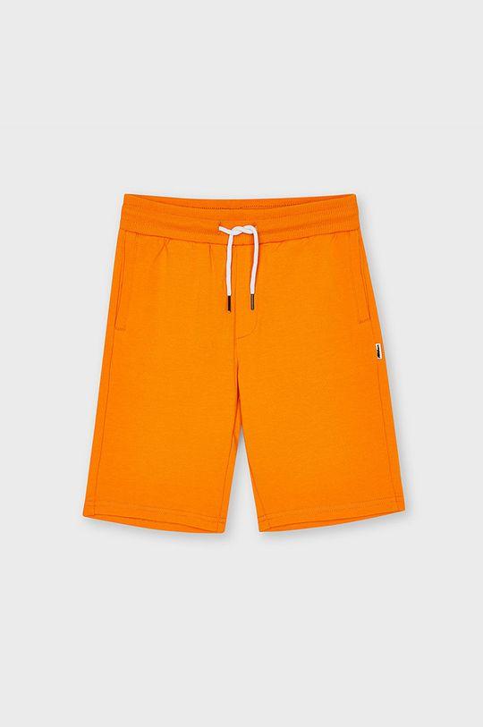 oranžová Mayoral - Detské krátke nohavice Chlapčenský