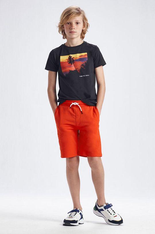 červená Mayoral - Detské krátke nohavice Chlapčenský