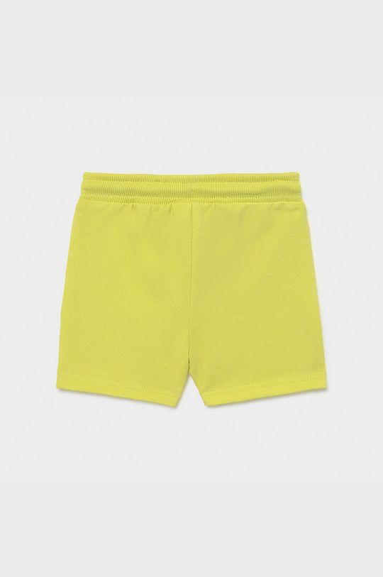 Mayoral - Detské krátke nohavice horčicová