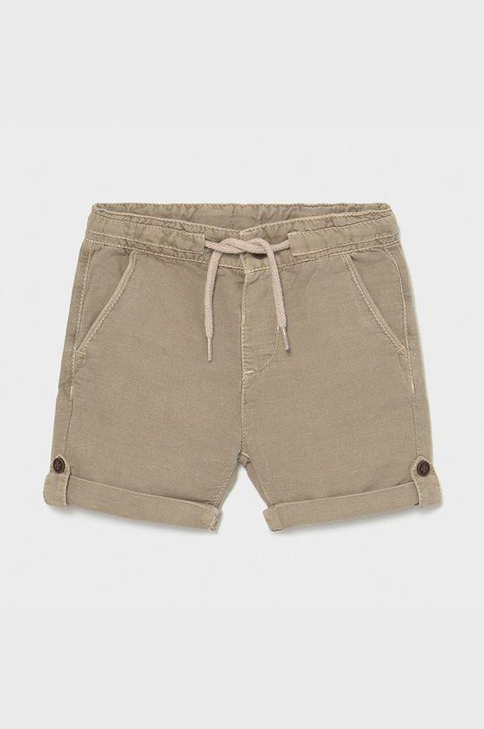 Mayoral - Detské krátke nohavice  77% Bavlna, 23% Ľan