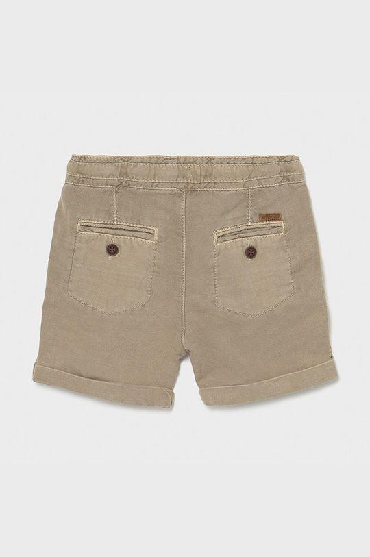 kávová Mayoral - Detské krátke nohavice