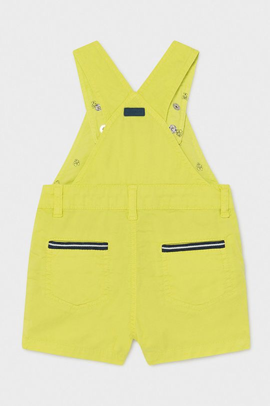 Mayoral - Detské nohavice na traky horčicová